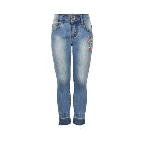 light blue denim skinny jeans