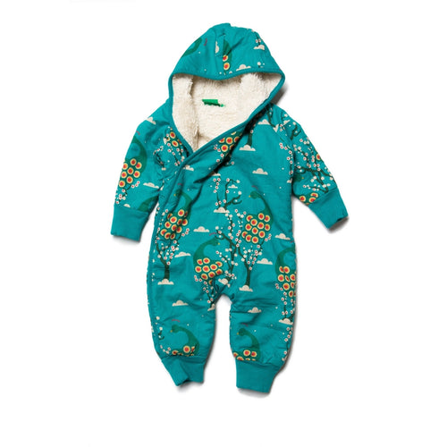Midnight Peacock Snowsuit