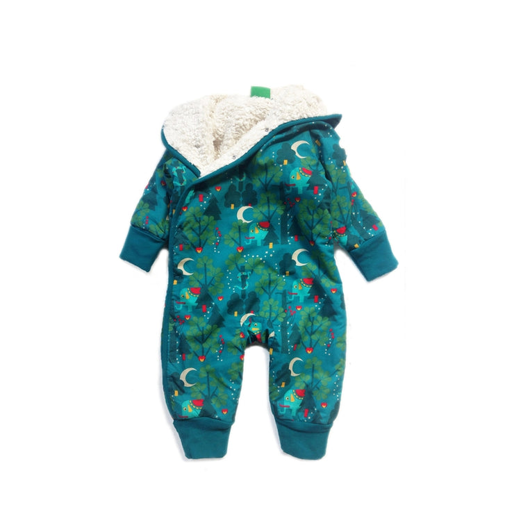 Midnight Jungle Snowsuit