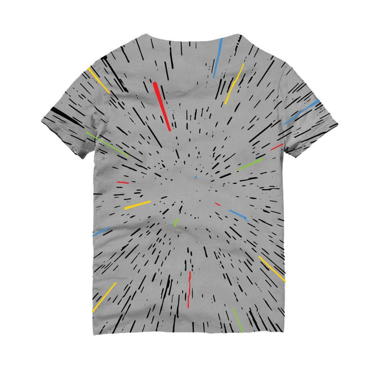 Space Travel Grey Tshirt