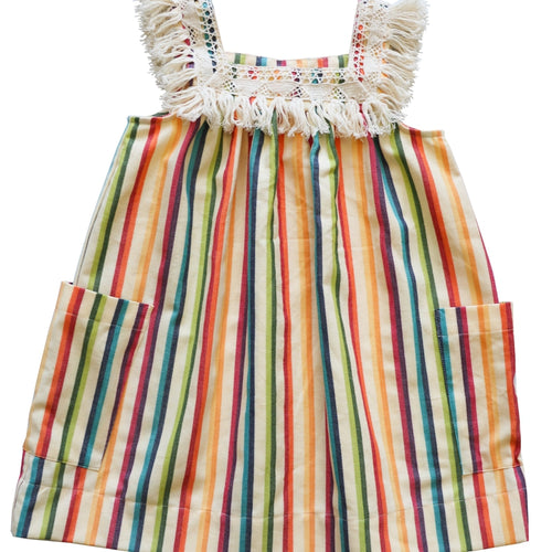 Fiesta Fringe Sundress