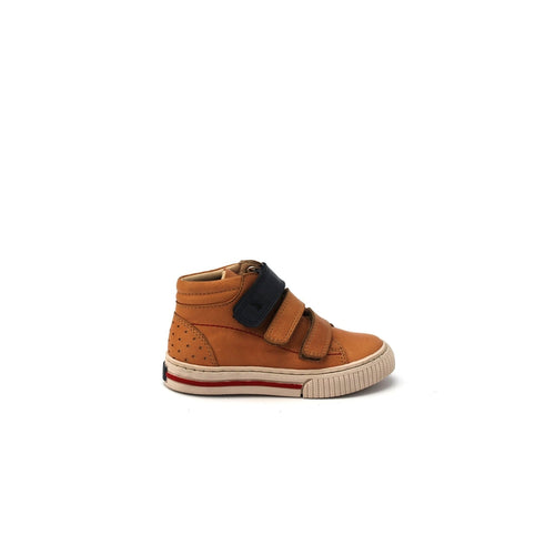 Air 2 Cognac and Navy Sneaker