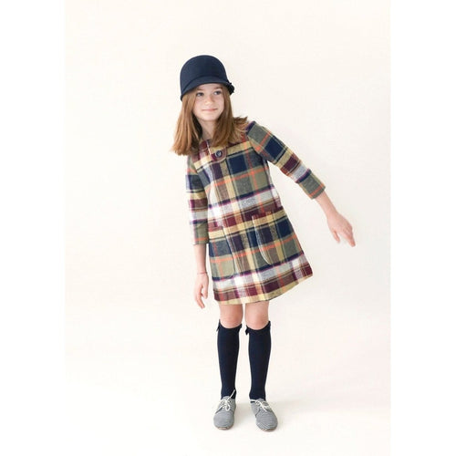 plaid daydream believer dress