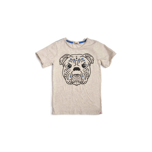 Graphic Bull Dog Tee