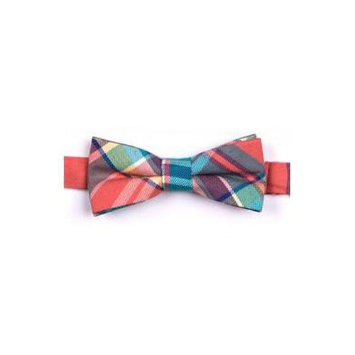 bushwick plaid bow tie