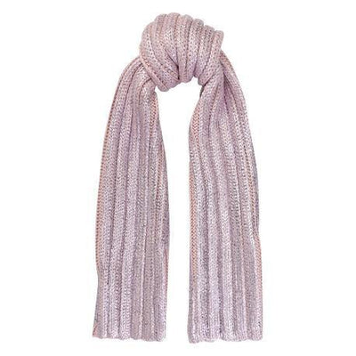 Purple Wool Scarf