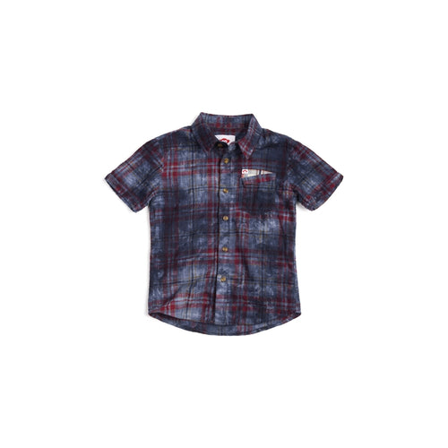 Deep Water Plaid Mossman Shirt