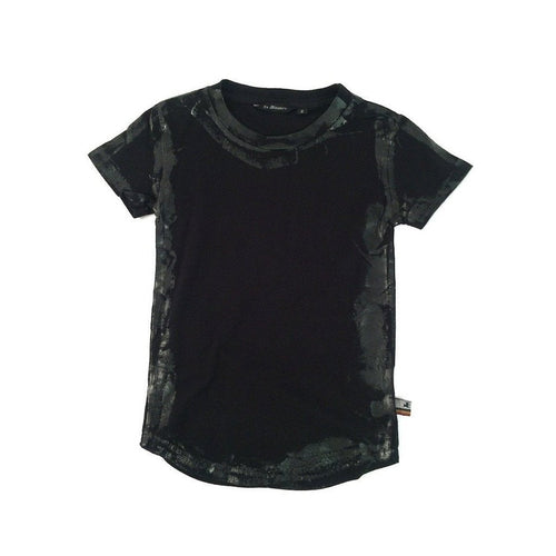 Foiled Black Tee