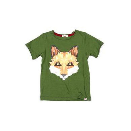 fox graphic short sleeve tshirt