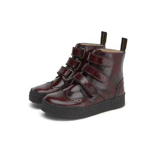 freddie high shine leather boot