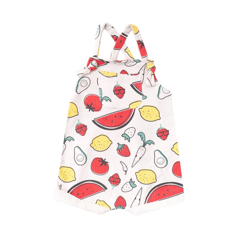 Fruit And Veggie Terry Romper