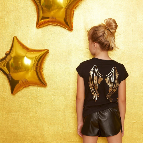 angel wing tee