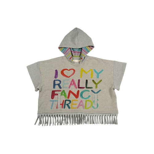 Fancy Fringed Poncho