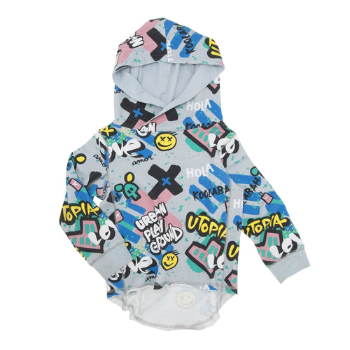 Multicolored Graffiti OS Hoodie