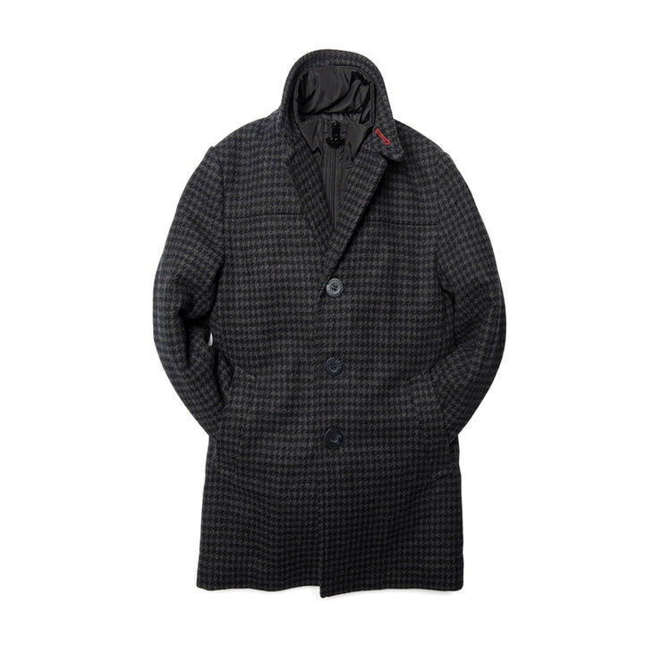 Houndstooth City Overcoat