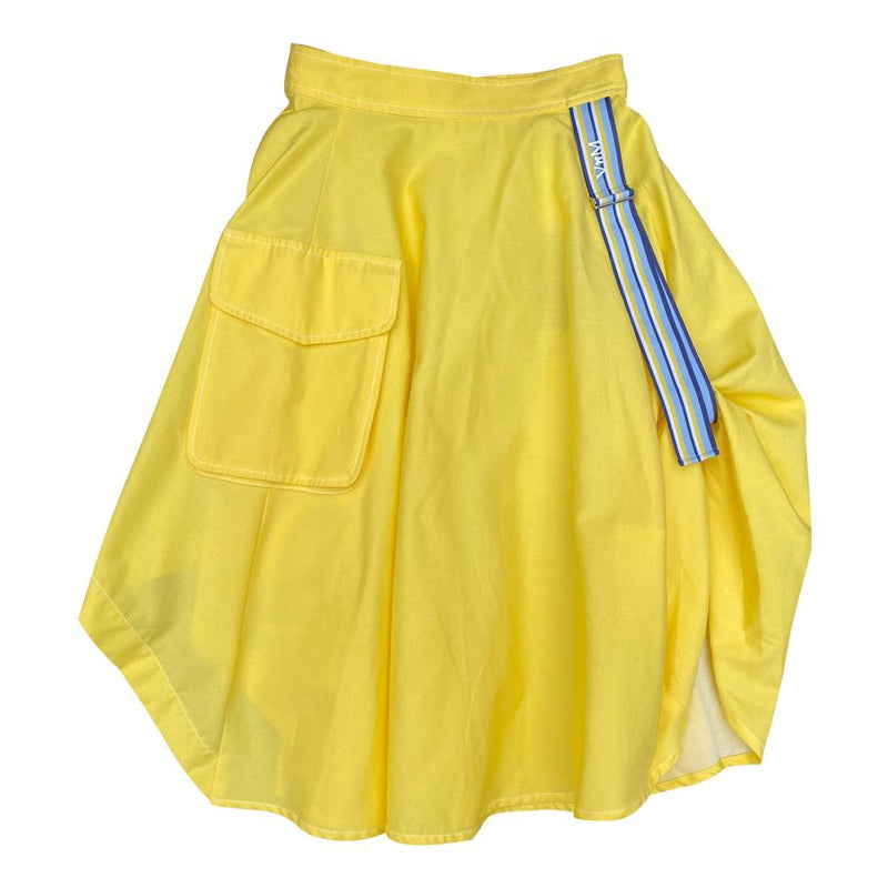 Yellow Skirt With Stripe