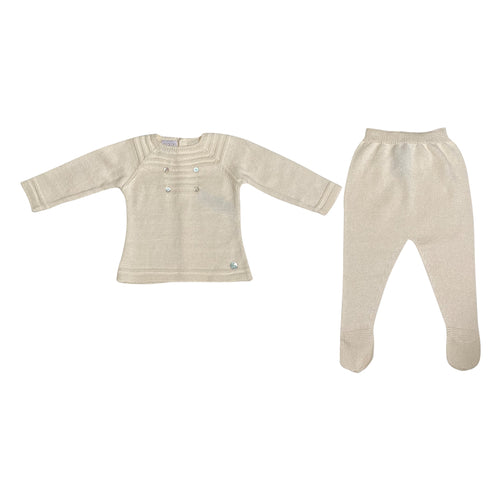 Calima Cream Knitted 2pc