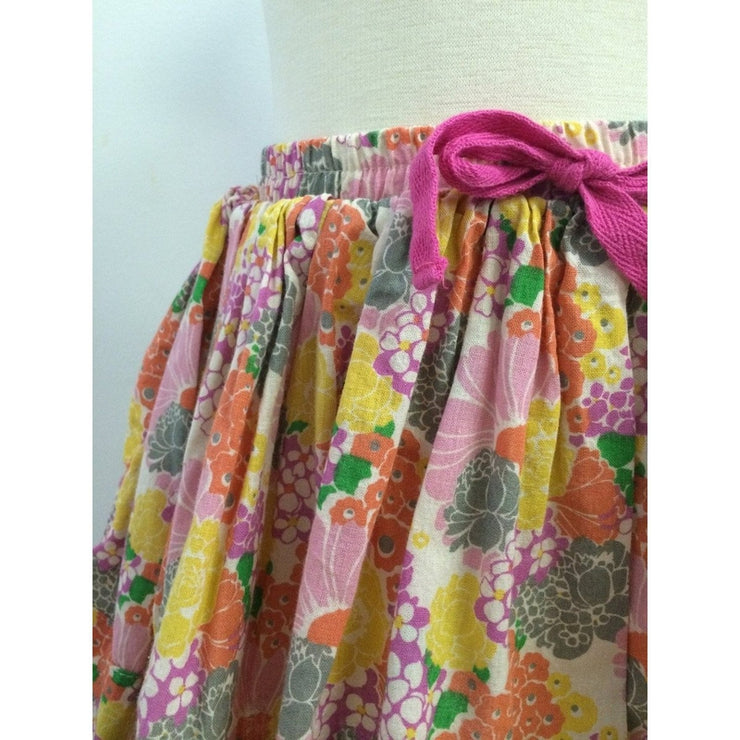 Coral Bouquet Skirt
