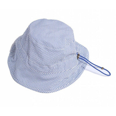 Cinched Fisherman Hat Cobalt