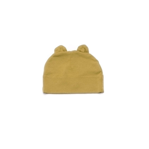 Golden Yellow Beanie with Ears