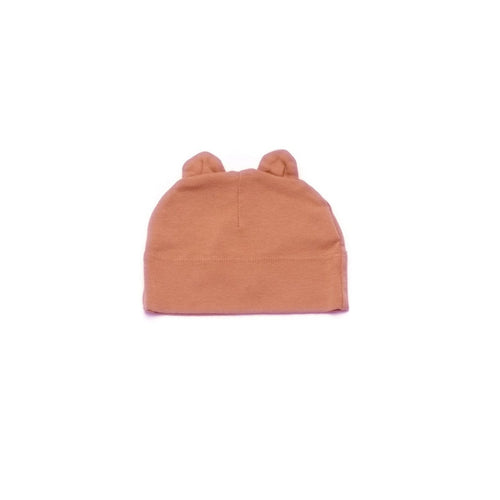 Burnt Sienna Beanie with Ears
