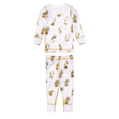 Metallic Owl Pajamas