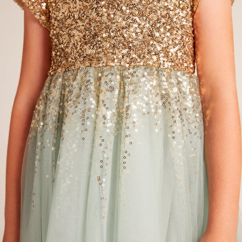 Aqua Blue Moon Dress