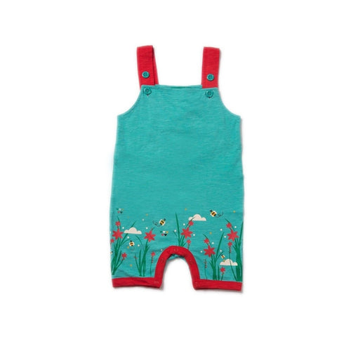 Green Cornish Cooper Story Time Dungarees