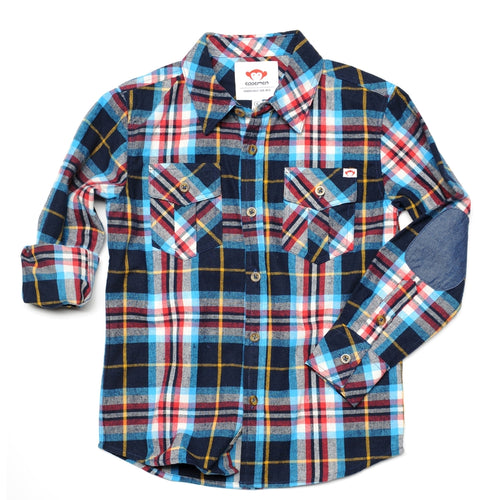 peacoat plaid flannel shirt