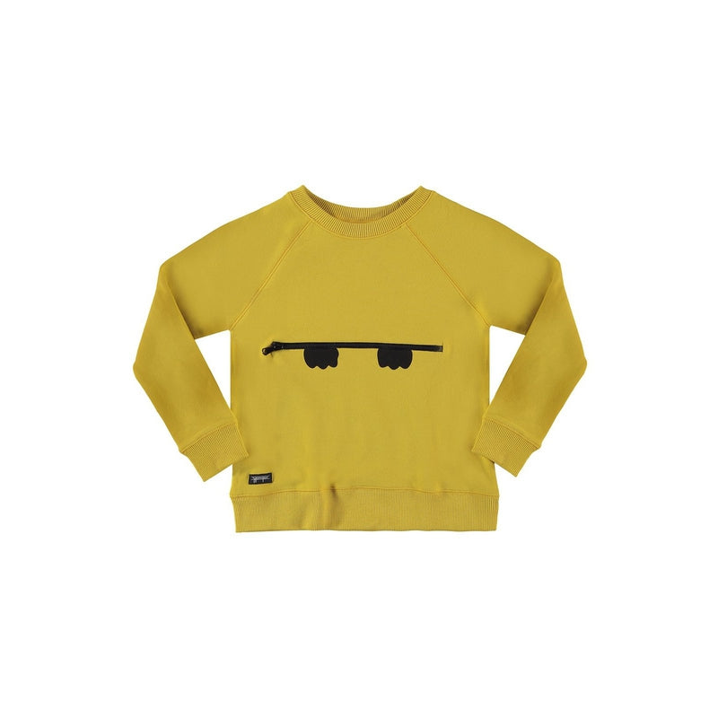 Peekaboo Zipper Sweatshirt