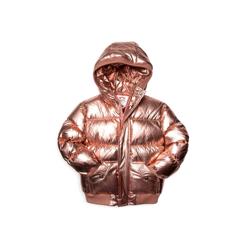 Rose Gold Puffy Coat