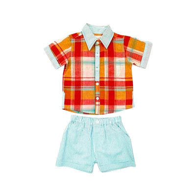 Resort Plaid 2pc