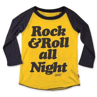 All Night Raglan Tee