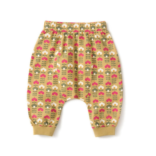 golden green flowers jelly bean jogger