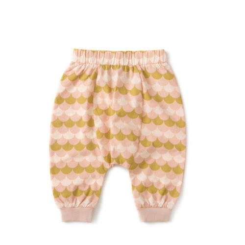 pink shells jelly bean jogger