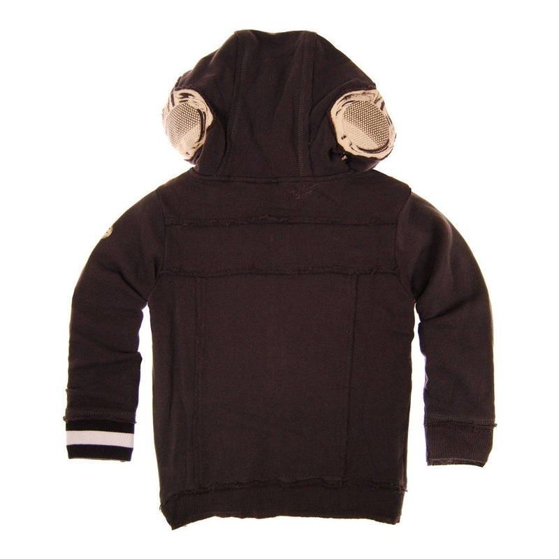 Tweed Headphones Hoody