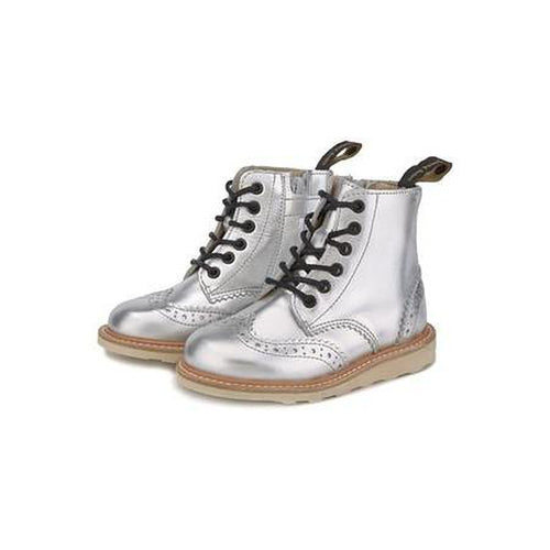 sidney silver leather boot