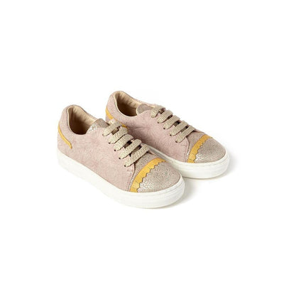 Shark Leather Sunny Blob Pink And Quarzo pink sneaker