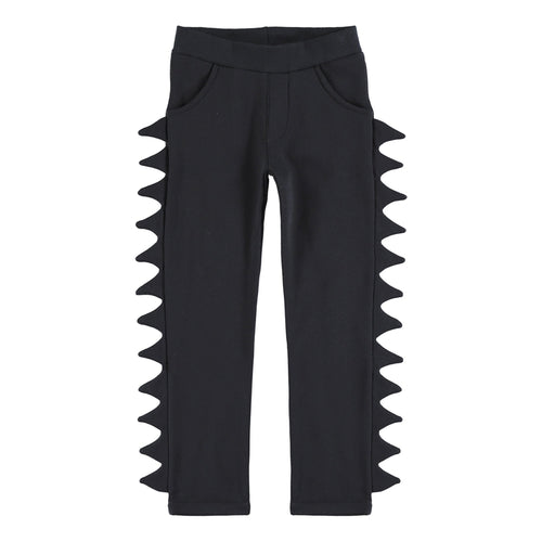 black spines sweat pants