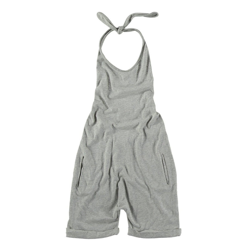 Grey Short Overall