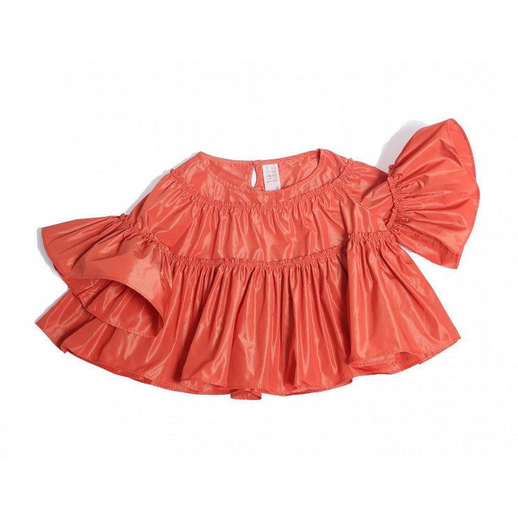 Maritza Tiered Blouse & Bloomers