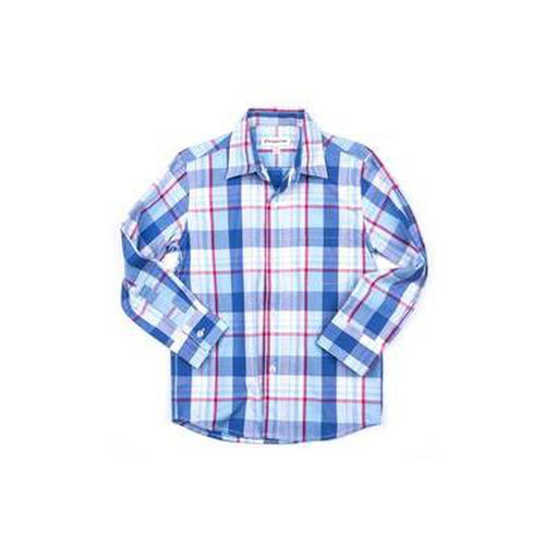 Standard Shirt Baja Blue Plaid