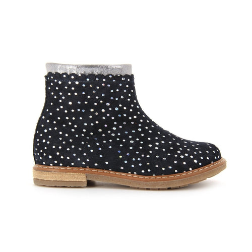 Multicolor polka Dot Boot