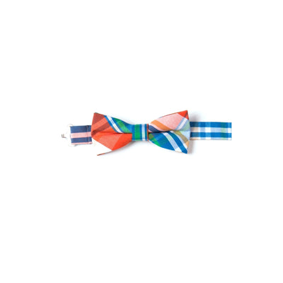 Fun House Plaid Bow Tie