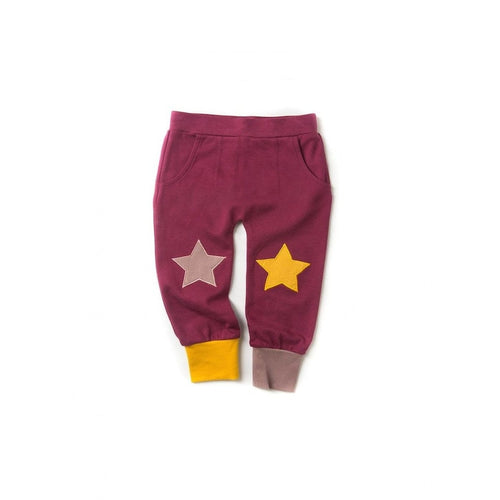 berry star joggers