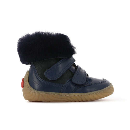 Marine Woody Easy Fur Shoe