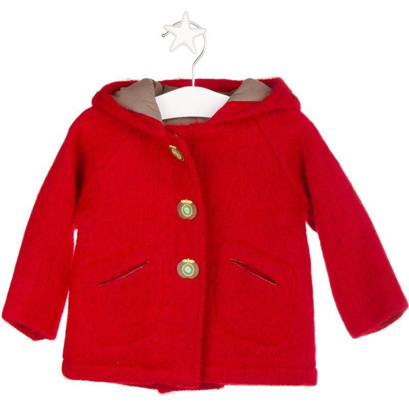 Secret Forest Red Woven Coat