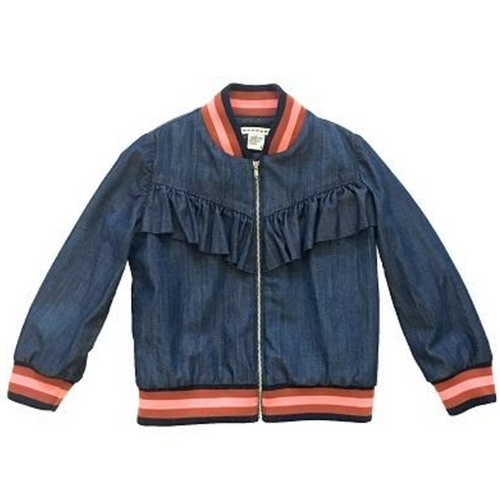 Night Sky Wash Bomber Jacket