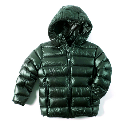 Jungle Green Featherweight Down Puffer