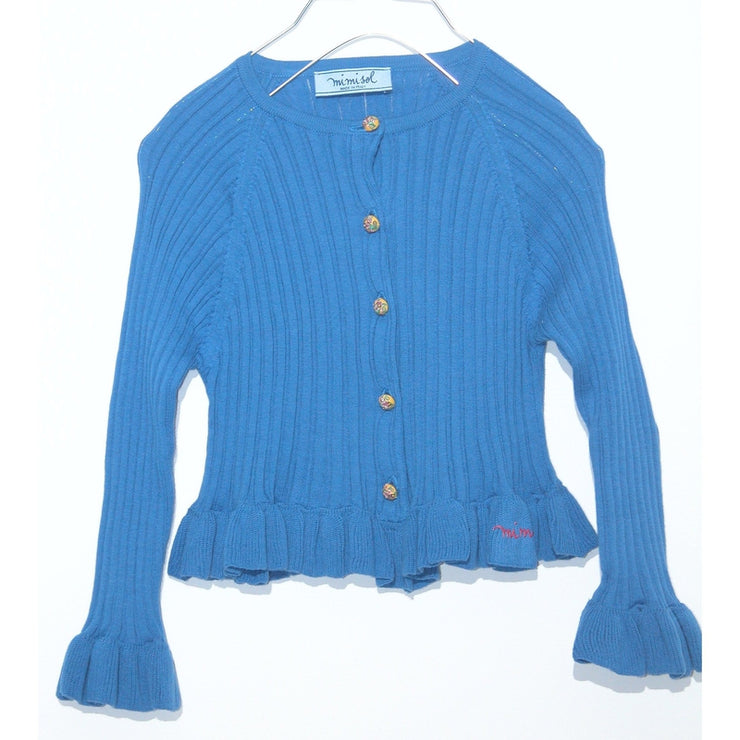 Fitted Ruffled Sweater